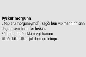 Þýskur morgunn