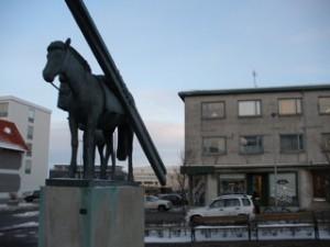 Sögusvið Fjarverunnar: Hlemmur og nágrenni